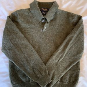Brooks Brothers men's wool polo.